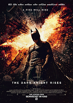 Kinoplakat: The Dark Knight rises