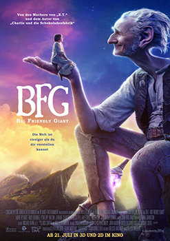 Kinoplakat: BFG – Big Friendly Giant