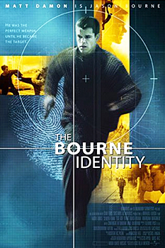 Kinoplakat (US): The Bourne Identity