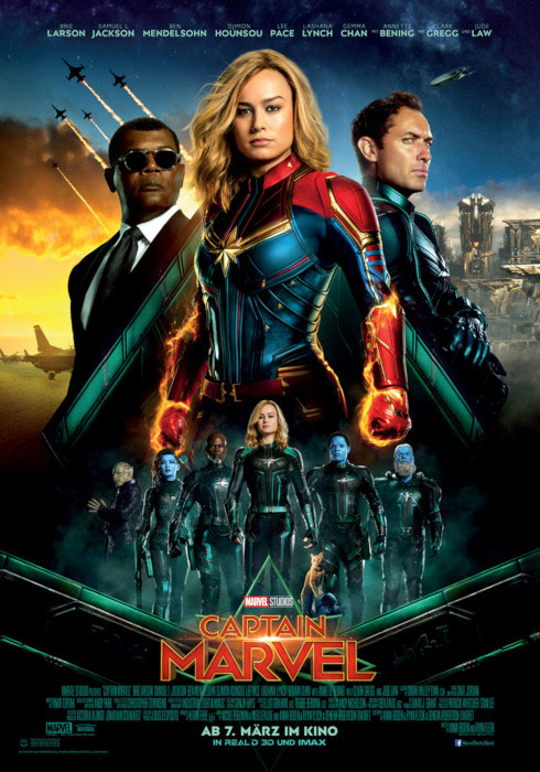 Kinoplakat: Captain Marvel (2019)