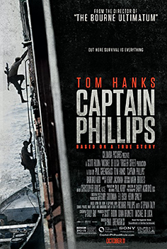 Kinoplakat (US): Captain Phillips