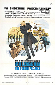 Kinoplakat (US): Colossus - The Forbin Project