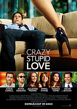 Kinoplakat: Crazy, Stupid, Love.