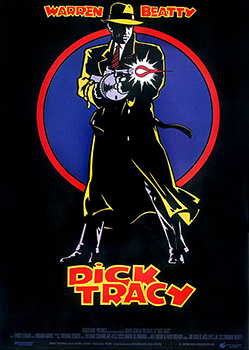 Kinoplakat: Dick Tracy