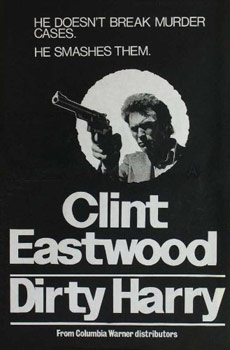 Plakatmotiv: Dirty Harry (1971)