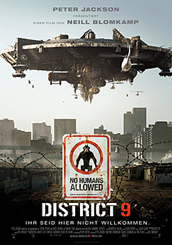 Kinoplakat: District 9