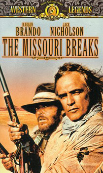 Videocover (US): The Missouri Breaks – Duell am Missouri (1976)