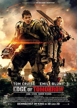 Kinoplakat: Edge of Tomorrow