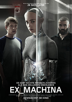 Kinoplakat: Ex Machina