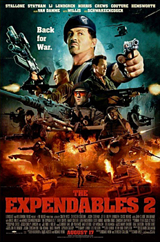 Kinoplakat (US): The Expendables 2
