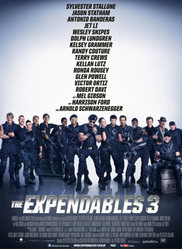 Kinoplakat: The Expendables 3