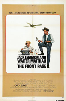 Plakatmotiv (US): The front Page (1974)