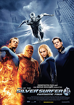 Kinoplakat: Fantastic Four – Rise of the Silver Surfer