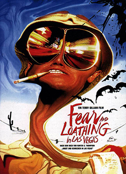 Kinoplakat: Fear and Loathing in Las Vegas
