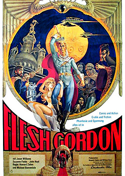 Kinoplakat: Flesh Gordon