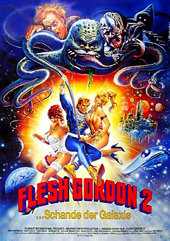 Kinoplakat: Flesh Gordon 2