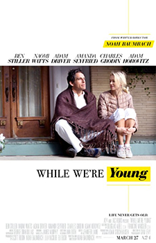 Kinoplakat (US): Gefühlt Mitte Zwanzig – While We're Young