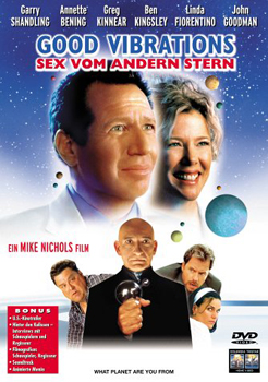 DVD-Cover: Good Vibrations - Sex vom anderen Stern