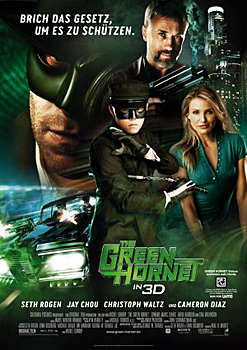 Kinoplakat: The Green Hornet