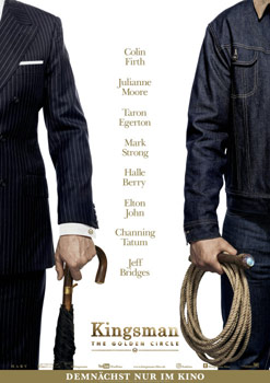 Plakatmotiv: Kingsman – The Golden Circle