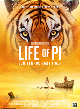 Teaserplakat: Life of Pi