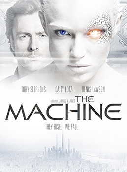 DVD-Cover: The Machine