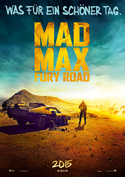 Kinoplakat: Mad Max: Fury Road