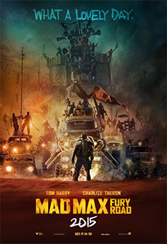 Kinoplakat (US): Mad Max: Fury Road
