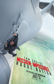 Kinoplakat (US): Mission: Impossible – Rogue Nation