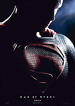 Teaserplakat: Man of Steel