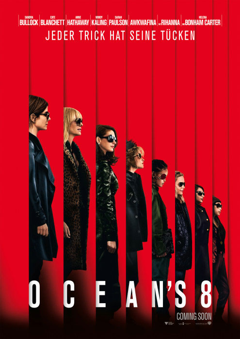 Kinoplakat: Ocean's Eight (2018)