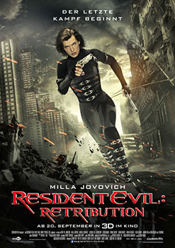 Kinoplakat: Resident Evil - Retribution