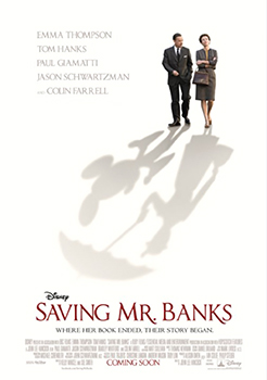 Kinoplakat (US): Saving Mr. Banks