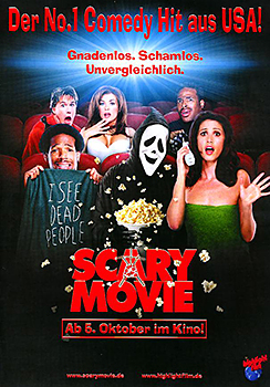 Kinoplakat: Scary Movie