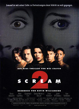 Teaserplakat: Scream 2