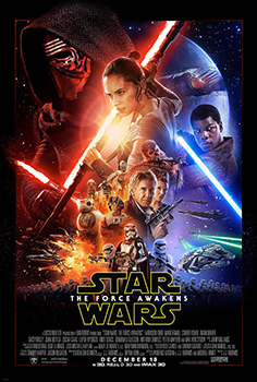 Kinoplakat (US): Star Wars, Epidsode VII - The Force awakens