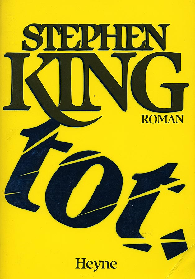 Buchcover: Stephen King – tot.