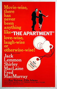 Plakatmotiv (US): The Apartement (1960)