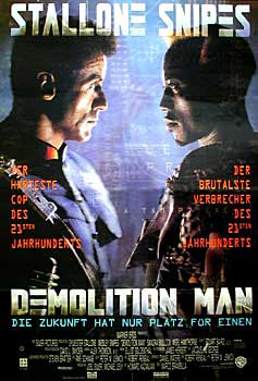 Kinoplakat: Demolition Man