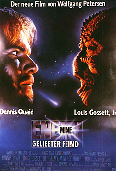 Kinoplakat: Enemy Mine – Geliebter Feind