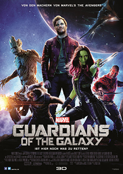 Kinoplakat: Guardians of the Galaxy