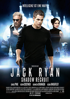 Kinoplakat: Jack Ryan – Shadow Recruit