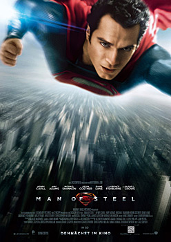 Kinoplakat: Man of Steel