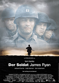Kinoplakat: Der Soldat James Ryan
